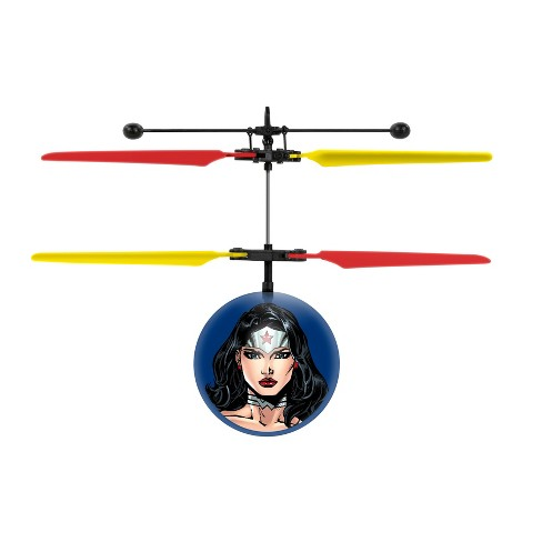 World Tech Toys DC Justice League Wonder Woman IR UFO Ball Helicopter - image 1 of 3