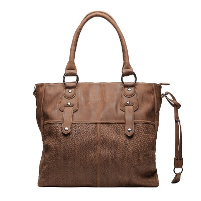 Little Company Vienna Diaper Bag - Cognac