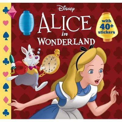Disney: Alice in Wonderland - (Disney Classic 8 X 8) by  Editors of Studio Fun International (Paperback)