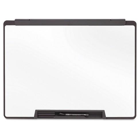 Quartet® Motion Portable Dry Erase Board, 24 x 18, White, Black ...