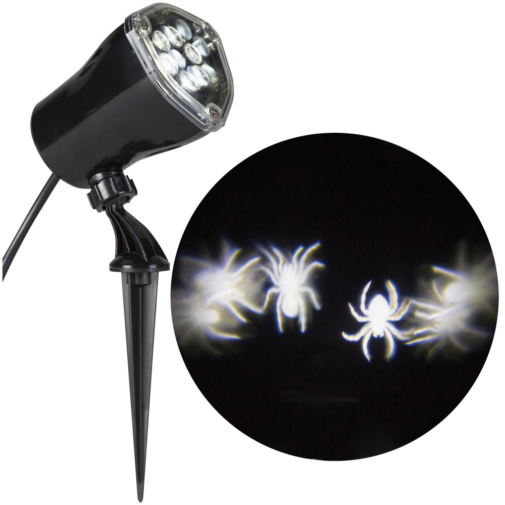 "Image of ""12"""" Halloween Spiders Projector Light"""