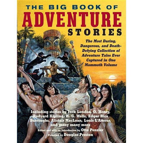 The Big Book of Adventure Stories - by  Otto Penzler (Paperback) - image 1 of 1