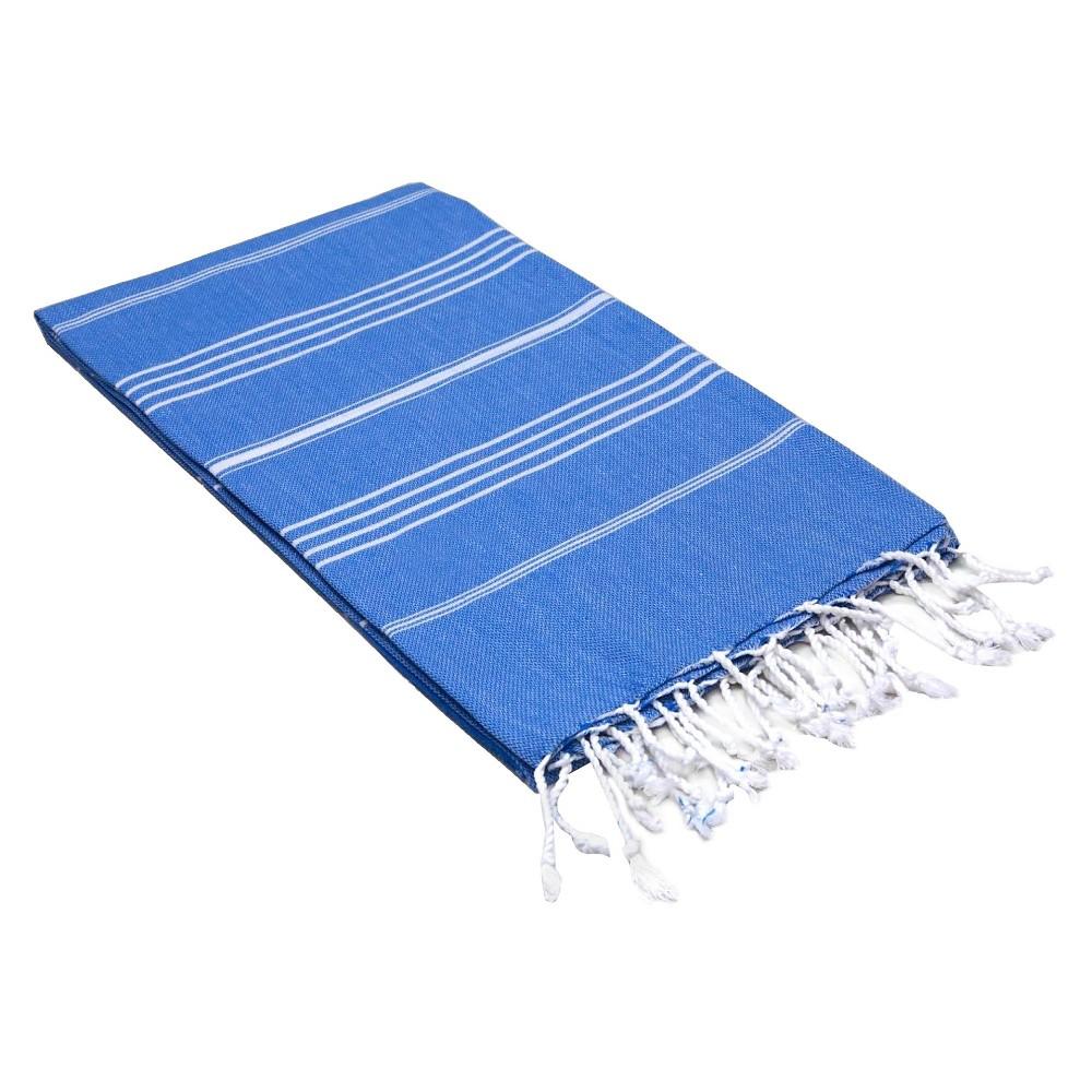 Lucky Pestemal Beach Towel Royal Blue