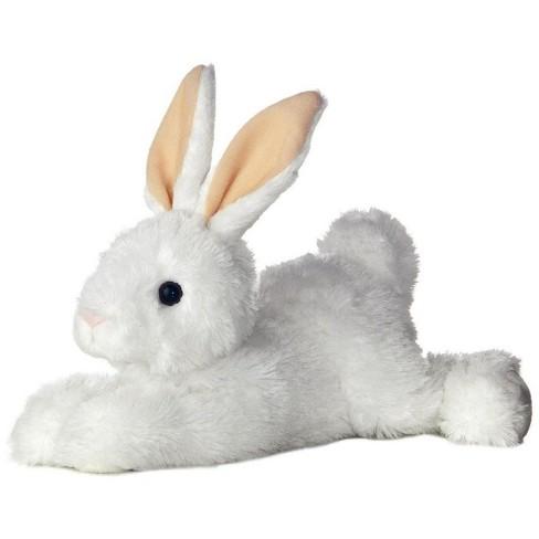 Aurora World Flopsie Chastity Grey White Bunny Stuffed Animal Target