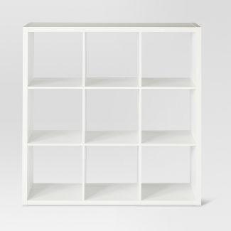 "9-Cube Organizer Shelf White 13"" - Threshold™"