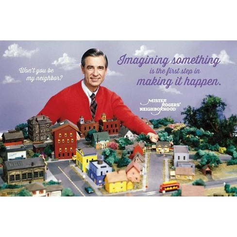 "34""x23"" Mister Rogers Neighborhood Unframed Wall Poster Print - Trends International - image 1 of 2"