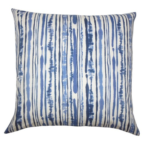 """Blue Square Throw Pillow (18""""x18"""") - The Pillow Collection - image 1 of 1"""