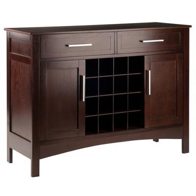 Gordon Buffet Cabinet/Sideboard Cappuccino - Winsome