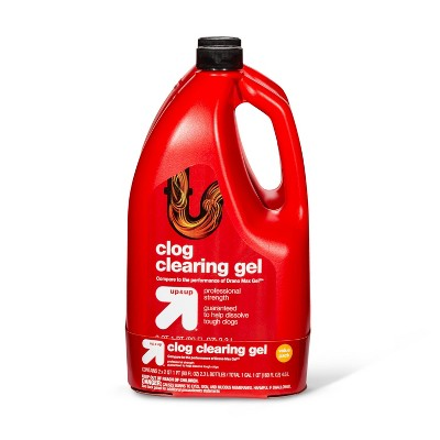 Clog Clearing Gel - 2pk/160oz - up & up™