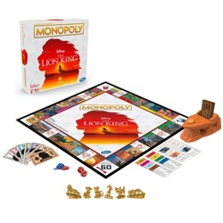 Monopoly Game Disney The Lion King Edition Family Board