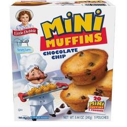 Little Debbie Chocolate Chip Muffins - 5ct/8.27oz