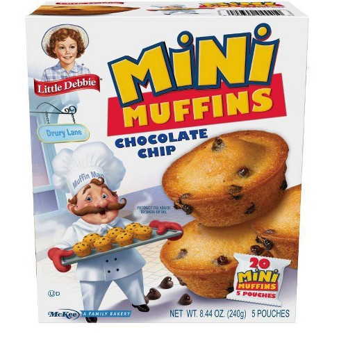 Little Debbie Chocolate Chip Muffins - 5ct/8.27oz - image 1 of 1