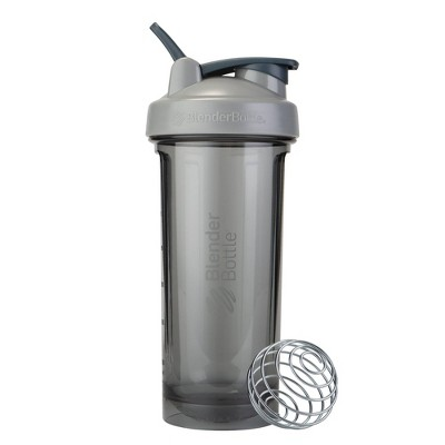 BlenderBottle 28oz Pro28 Water Bottle - Pebble Gray
