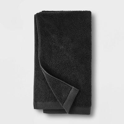 Organic Hand Towel Black - Casaluna™