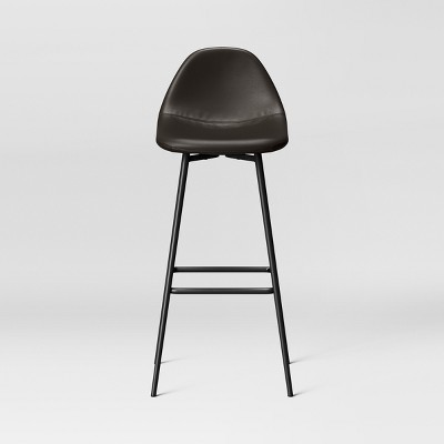 Copley Upholstered Barstool with Faux Leather - Project 62™