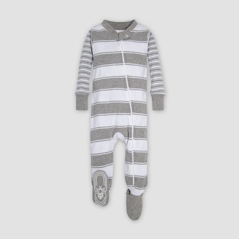 27d1de1860 Burt s Bees Baby® Mixed Peace Stripe Organic Cotton Sleeper ...