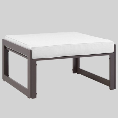Fortuna Outdoor Patio Ottoman - Modway