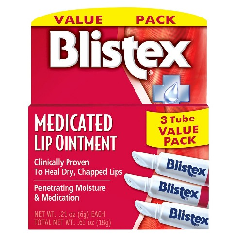 Blistex Medicated Lip Ointment - 3ct - image 1 of 1