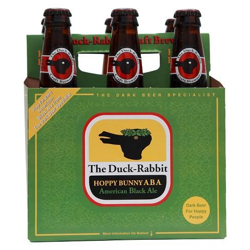 Duck-Rabbit Hoppy Bunny Black Ale Beer - 6pk/12 fl oz Bottles - image 1 of 1