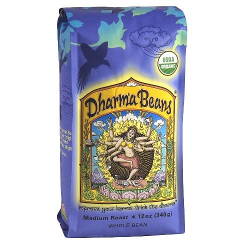Raven's Brew Dharma Beans Medium Roast Whole Bean Coffee - 12oz - image 1 of 1