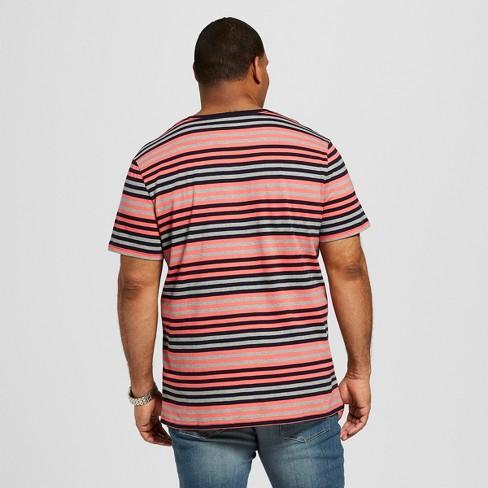 d6ceff314 Men's Big & Tall Short Sleeve V-Neck Novelty T-Shirt - Goodfellow & Co™  Georgia Peach
