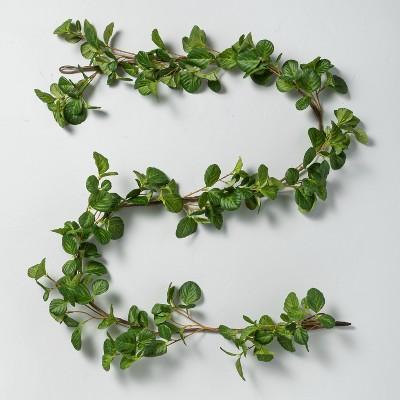 6' Faux Hazel Leaf Garland - Hearth & Hand™ with Magnolia