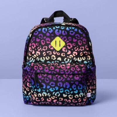 Girls' Rainbow Leopard Print Backpack - More Than Magic™
