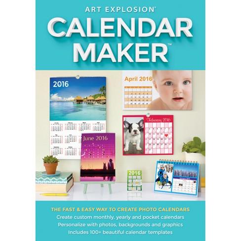 avanquest art explosion calendar maker standard pc email