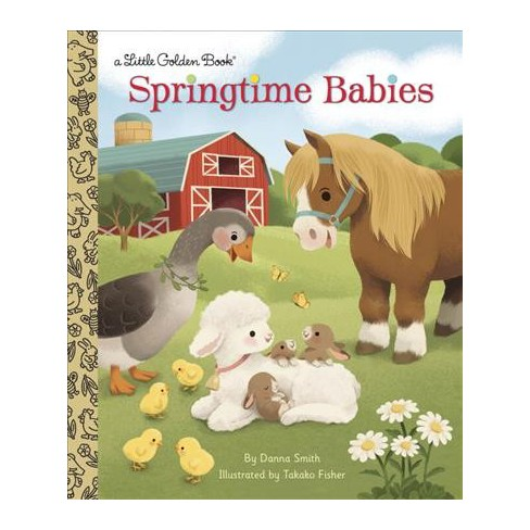 Springtime Babies - (Little Golden Book) by  Danna Smith (Hardcover) - image 1 of 1