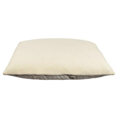 Pinstripe Mattress Pet Bed - XLarge - Radiant Gray - Boots & Barkley™