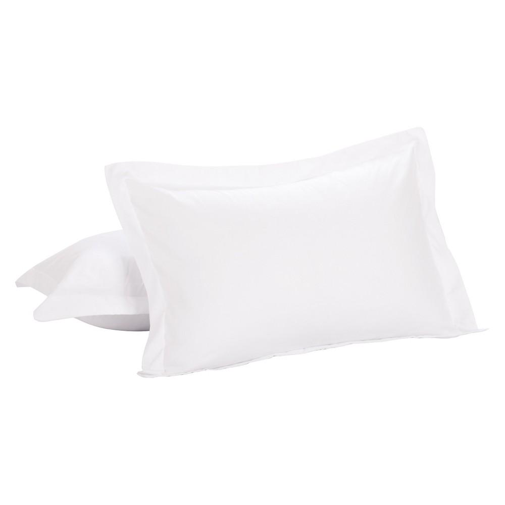 Image of Luxury Hotel 2 Pack Standard Shams, White