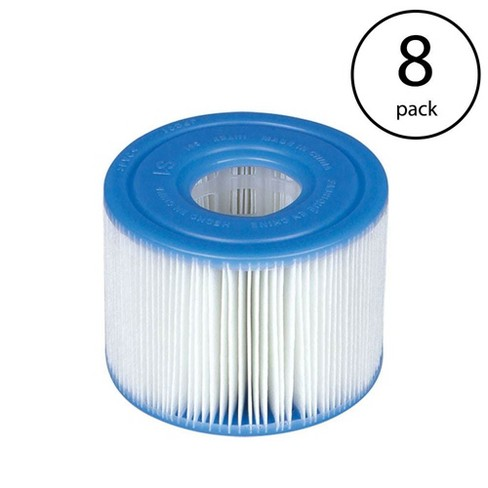 Intex PureSpa Type S1 Easy Set Pool Filter Replacement Cartridges (8 Filters) - image 1 of 4