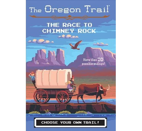 Race to Chimney Rock -  (Oregon Trail) by Jesse Wiley (Hardcover) - image 1 of 1