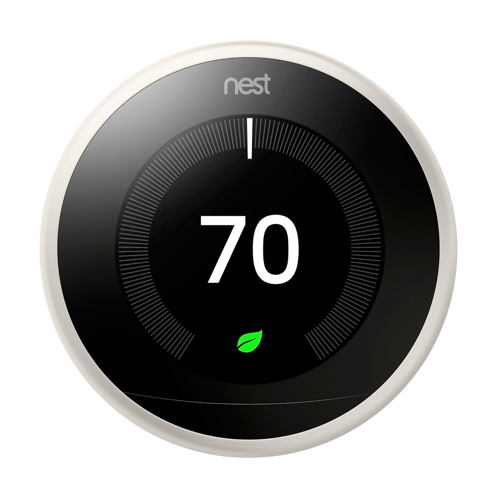 Google Nest Learning Thermostat - White