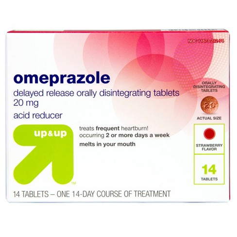 Omeprazole Delayed-Release Orally Disintegrating Tablets - 20mg - Up&Up™ - image 1 of 3