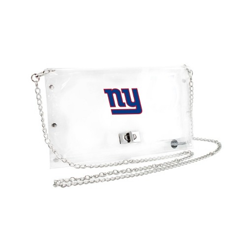 NFL New York Giants Clear Envelope Purse - image 1 of 1