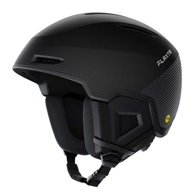 Flaxta Exalted MIPs Protective Ski and Snowboard Helmet with Size Adjustment System, Large/XL Size, Black