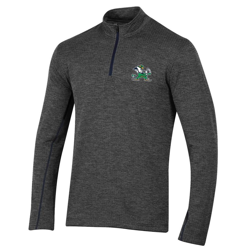 Ncaa Notre Dame Fighting Irish Men 39 S Digital Textured 1 4 Zip Fleece S
