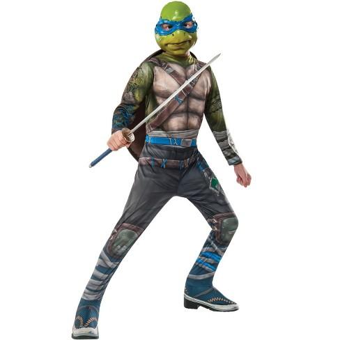 Teenage Mutant Ninja Turtles Tmnt 2 Leonardo Child Costume Large