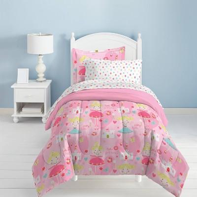 Dream Factory Pretty Princess Mini Bed in a Bag - Pink