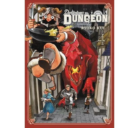 Delicious in Dungeon 4 -  (Delicious in Dungeon) by Ryoko Kui (Paperback) - image 1 of 1