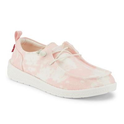 Levi's Kids Newt TD CVS Slip-on Unisex Tie Dyed Canvas Fashion Sneaker Shoe