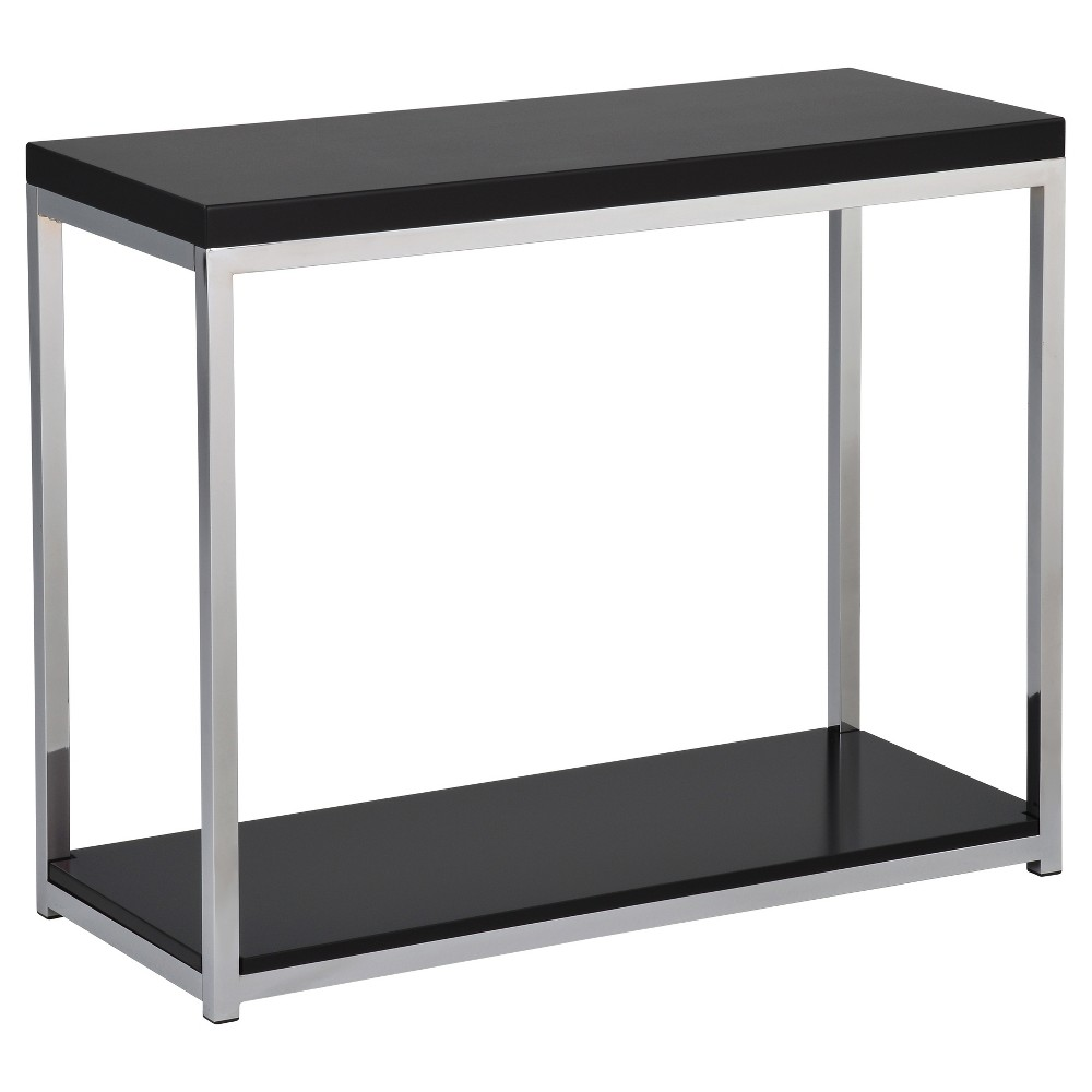 Wall Street Foyer Table Black - Osp Home Furnishings