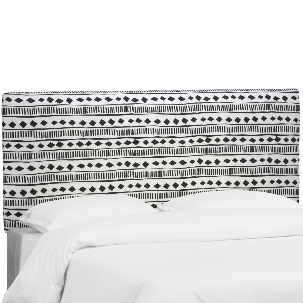 Twin Upholstered Headboard Mali Cloth White - Project 62