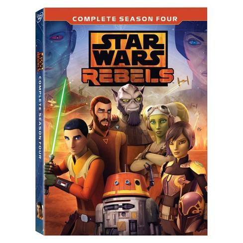 Star Wars: Rebels Complete Season 4 (DVD) - image 1 of 1