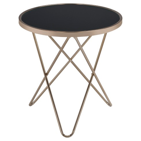 End Table Black Champagne - image 1 of 3