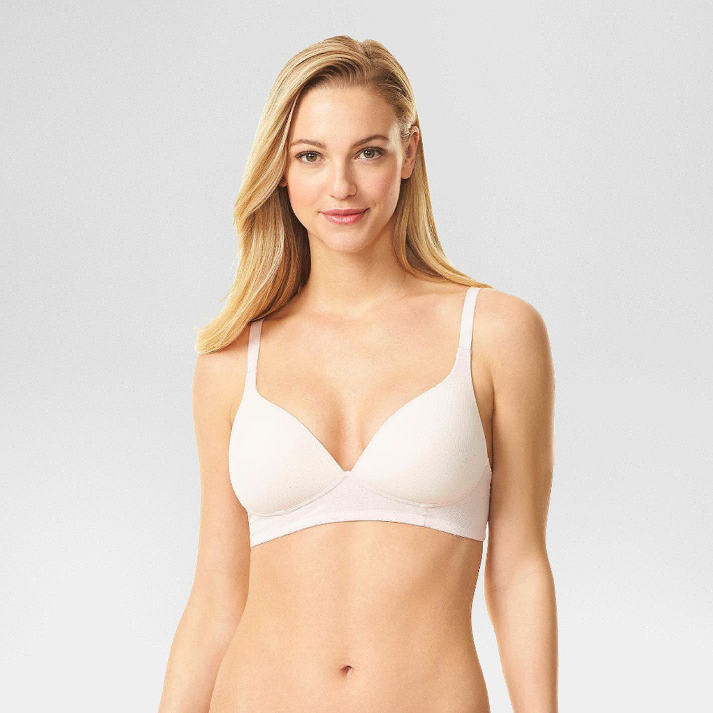 Simply Perfect by Warner's Women's Breathable Wirefree Bra - Rosewater 38B