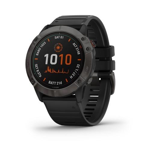 Garmin Fenix 6X Pro Solar Smartwatch - image 1 of 4