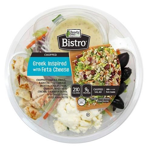 Ready Pac Foods Bistro Greek Feta Chopped Salad Bowl - 5.5oz - image 1 of 1
