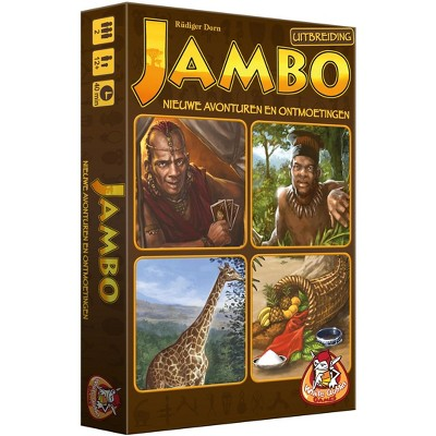 Jambo - New Adventures and Deception (Dutch Edition) Board Game